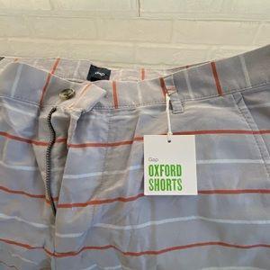 Gap oxford shorts size 36 inseam 9 inch